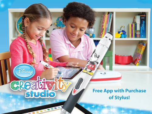 iHome eKids Disney Creativity Studio
